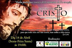 Paixão de Cristo será encenada em São Miguel do Aleixo