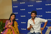 Nani and Keerhi Suresh at Facebook Office-thumbnail-11
