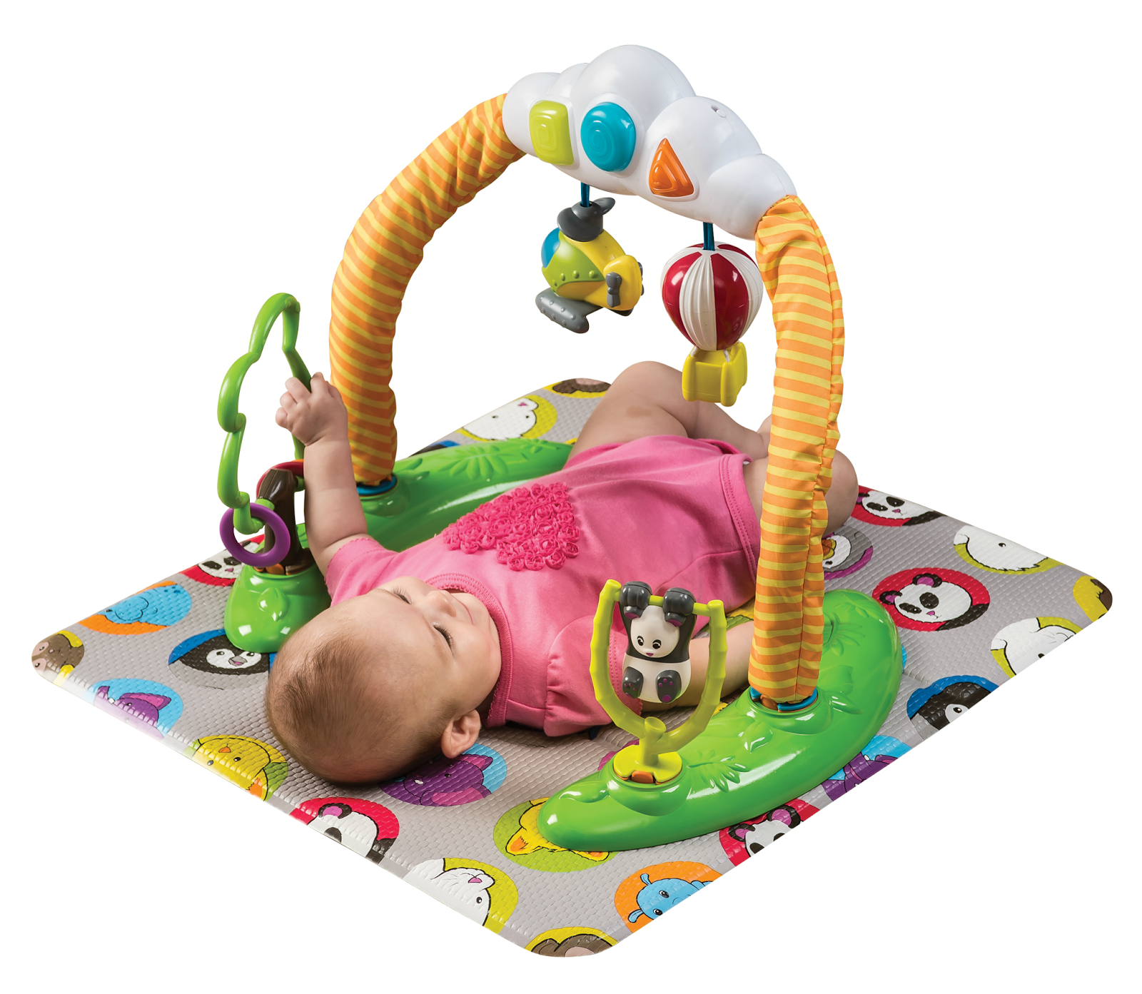 Evenflo World Explorer Triple Fun Plus Exersaucer