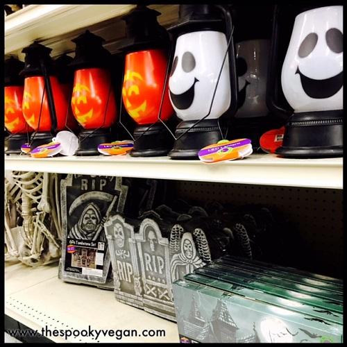 lanterns and tombstones - Big Lots Halloween