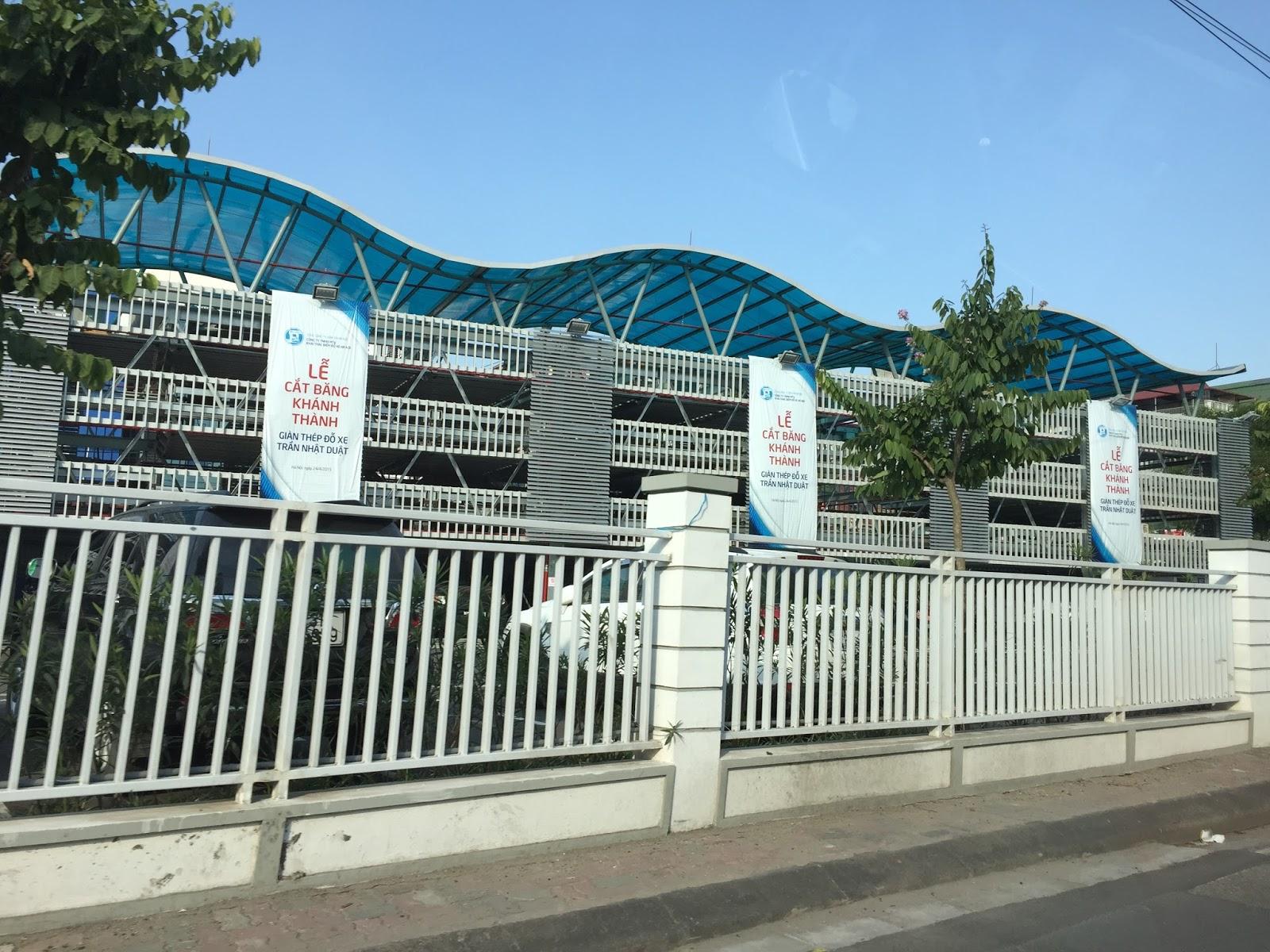 parking-structure-hanoi 立体駐車場