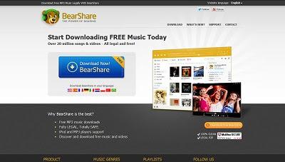 bearshare musik