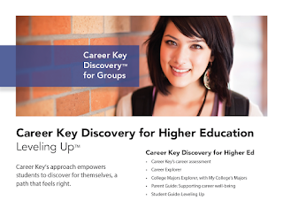 Career Key Discovery for Higher Education