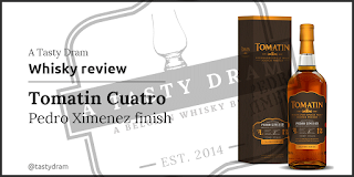 A Tasty Dram whisky review from Tomatin Cuatro PX
