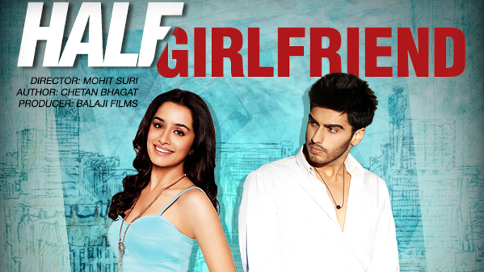 Complete cast and crew of Half Girlfriend (film) (2017) bollywood hindi movie wiki, poster, Trailer, music list - Arjun Kapoor and Shraddha Kapoor, Movie release date 19 May 2017