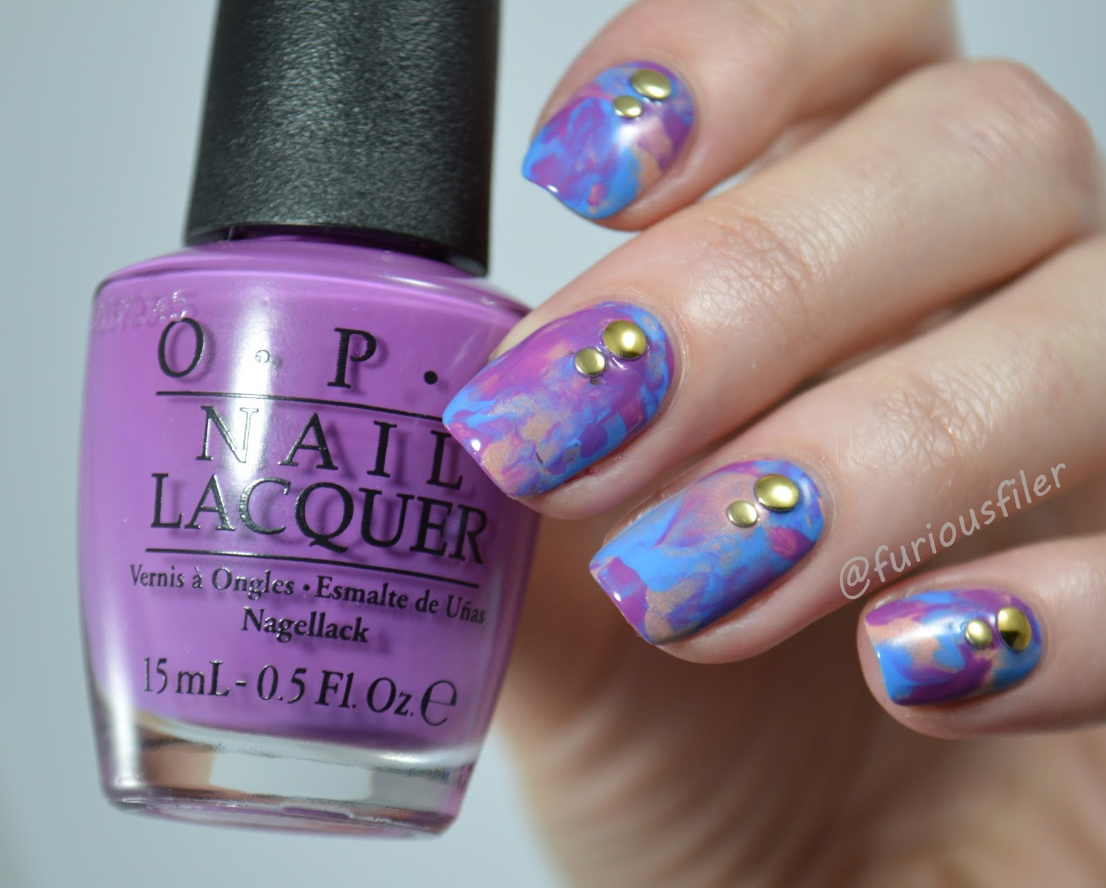 Review | OPI New Orleans and Treatment Set - FURIOUS FILER