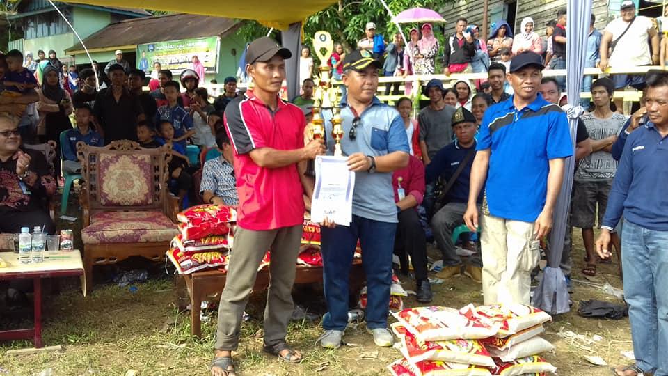 Lumba Kapuas Save Juara 1 Lomba Sampan Bidar Di Desa Tanjung