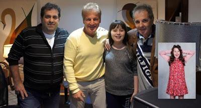 Giggio, Lulli, Bia Jordão e Paulo Fedato  – Foto: divulgação