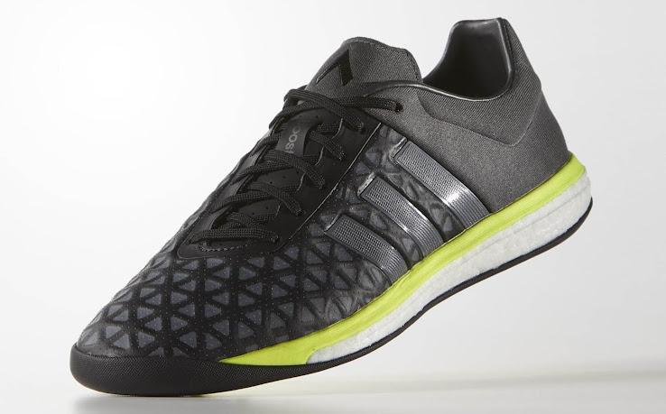 81878cc9e Adidas Ace 15.1 Boost Boot Black / Metallic Silver / Solar Yellow