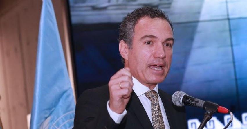 La ideología de género no existe, sostiene el Ministro de Cultura Salvador de Solar