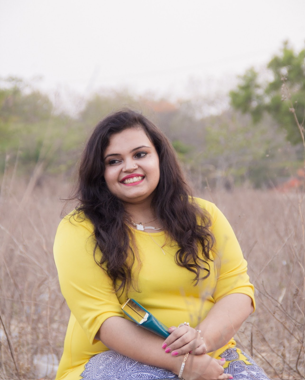 yellow dress reliance trends summer fashion smile