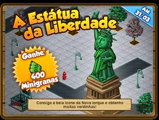 A Estátua da Liberdade