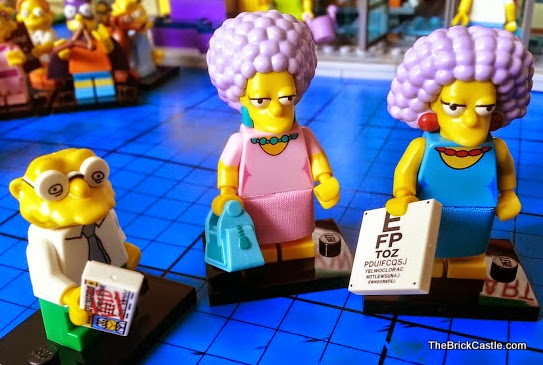 The Simpsons LEGO Minifigures Series 2 Selma Patty Moleman