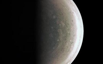 Foto Terbaru Kutub Jupiter yang Mengesankan