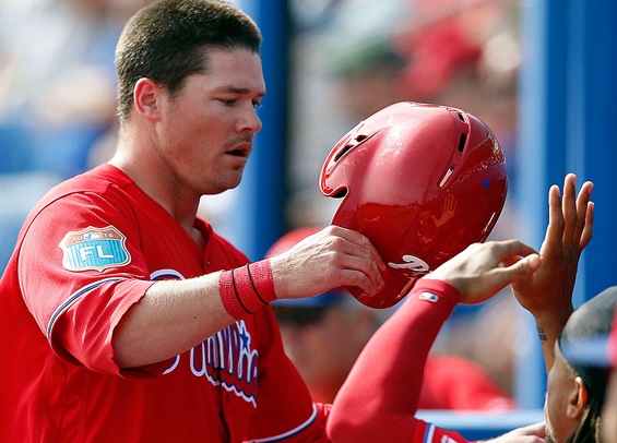 Phillies Andrew Knapp improved behind the plate