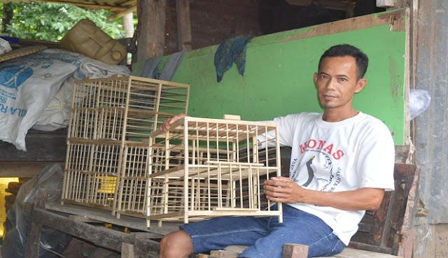 Bermodal 50.000, Basir Memilih jadi Pengrajin Sangkar Burung