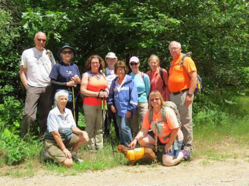 hiker group