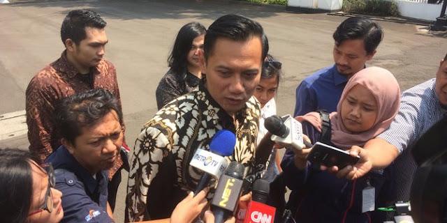 Demokrat hanya punya 10 Persen Kursi, AHY Buka Peluang Demokrat Deklarasikan Jokowi jadi Capres