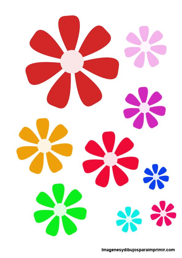 Magnífico Dibujos Animados De Flores Para Imprimir Bandera - Dibujos ...