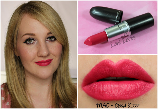 MAC Good Kisser lipstick swatch