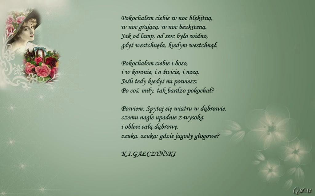 Dla Ciebie: Pokochałem ciebie Konstanty Ildefons