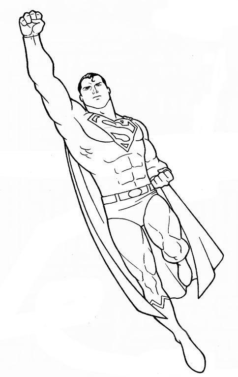 Tranh cho bé tô màu siêu nhân 0