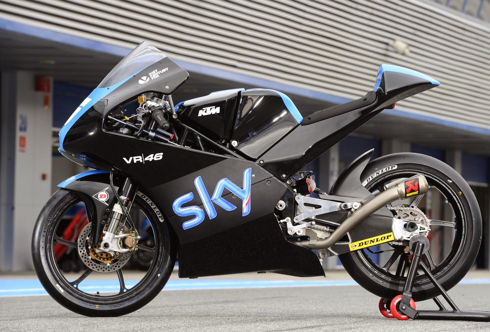 Racing Cafè: KTM RC 250 GP Team Sky VR46 2014