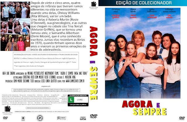 Capa DVD Agora E Sempre (1995) [Coleção]