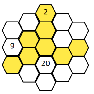 Hard Number Hexagon Riddle