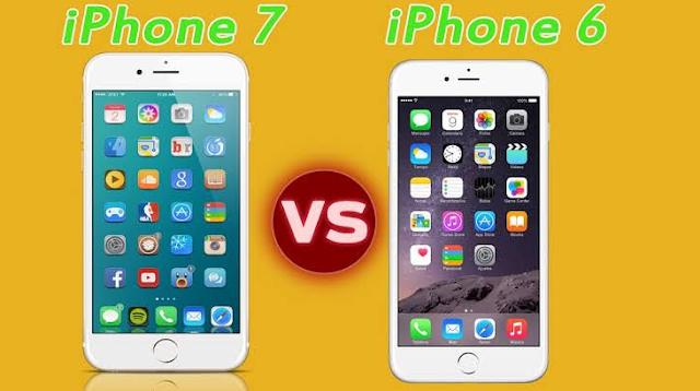 Mana yang Lebih Unggul Antara iPhone 7 Vs iPhone 6?