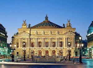 Opera Garnier Bangunan terkenal di Paris