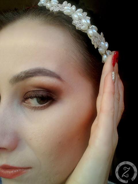 makijaż kosmetykami naturalnymi