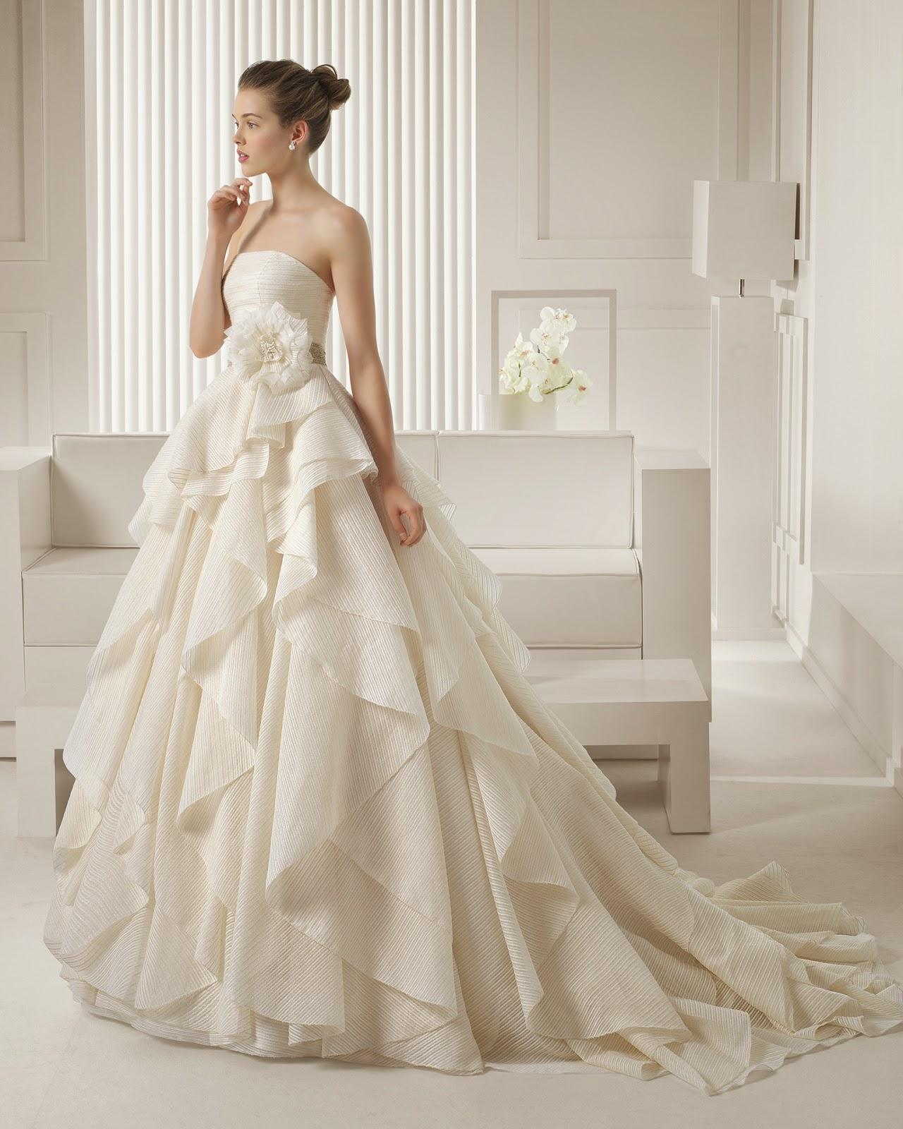 abiti da sposa 2015 Rosa Clarà e temi matrimonio