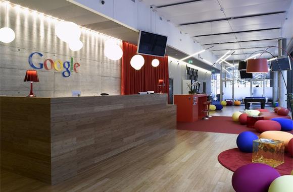 Thiết kế nội thất văn phòng của Google: Nội thất PLAZA 0963.360.360