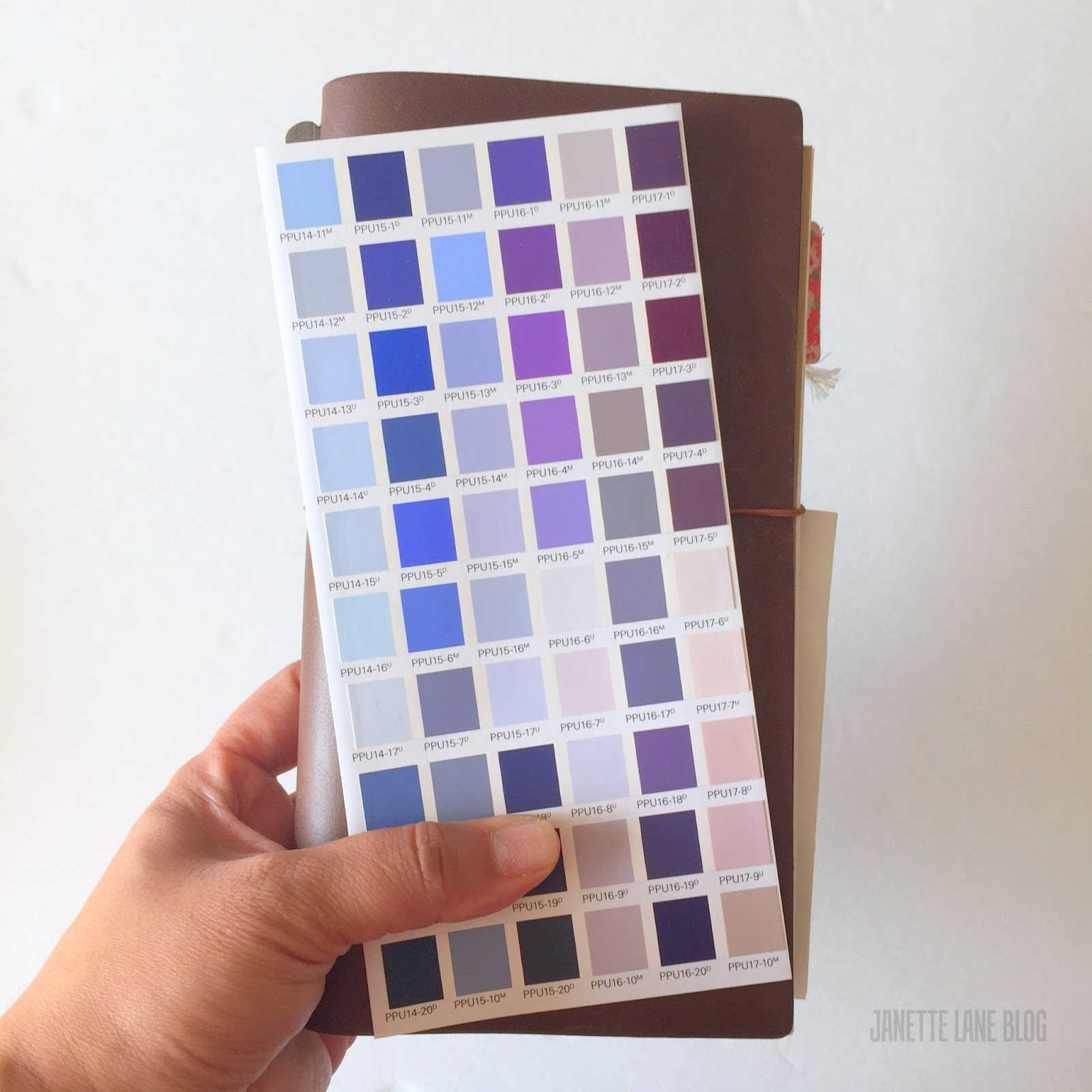paint chip notebooks diy