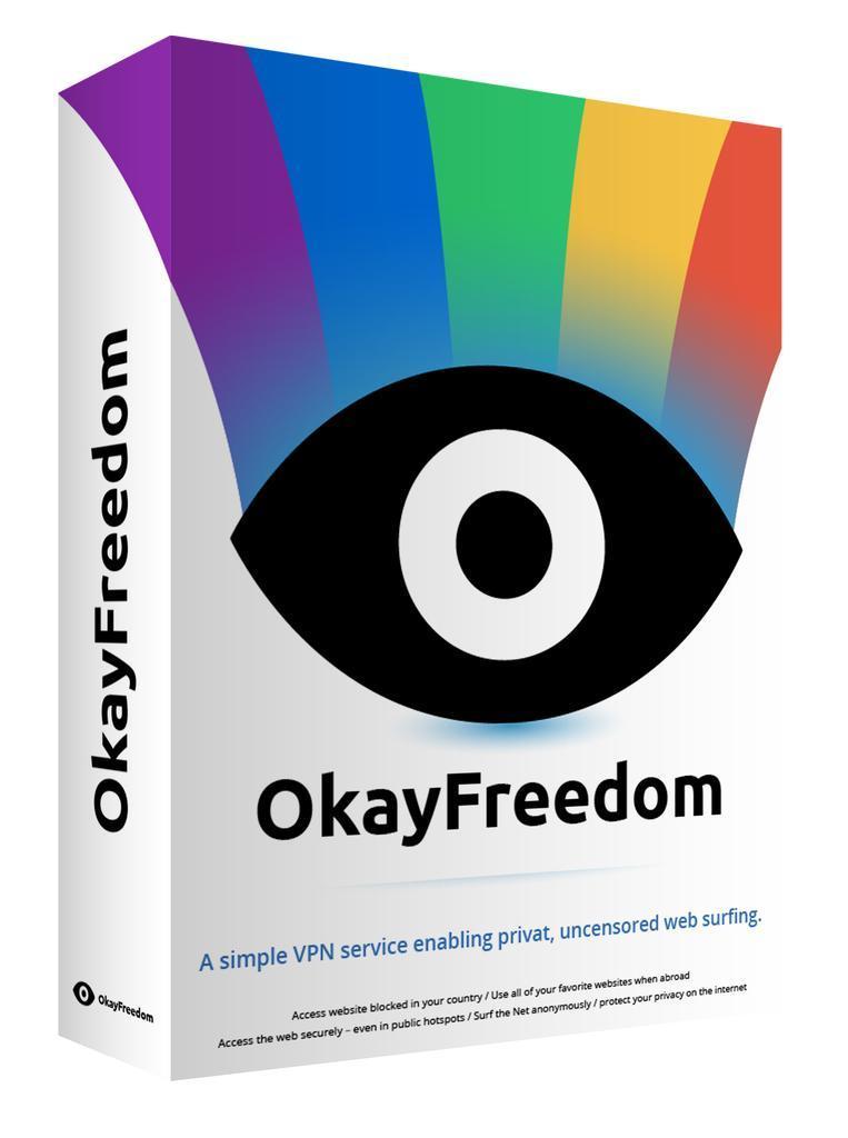 OkayFreedom Premium VPN Free 1 Year Giveaway | TopAppDeals