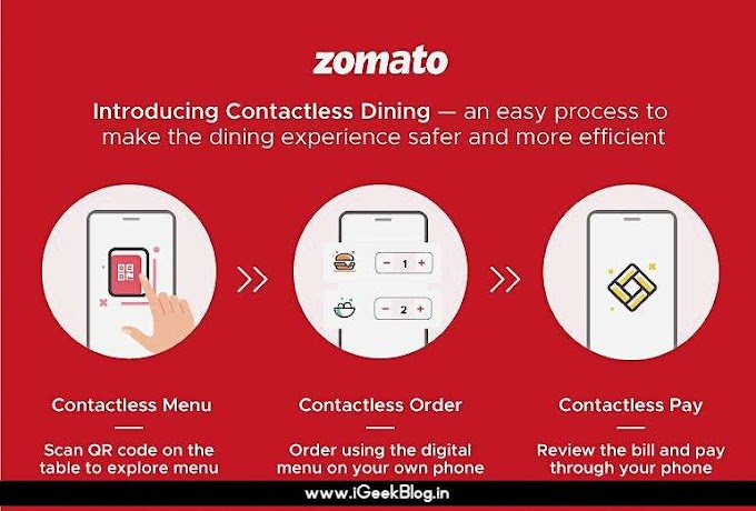 Zomato plans for contactless dining in post-lockdown world