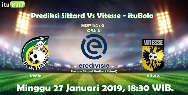 Prediksi Sittard Vs Vitesse - ituBola