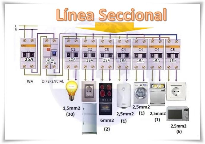 Linea Seccional
