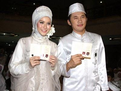 Contoh Baju Pengantin Muslim Untuk Pernikahan