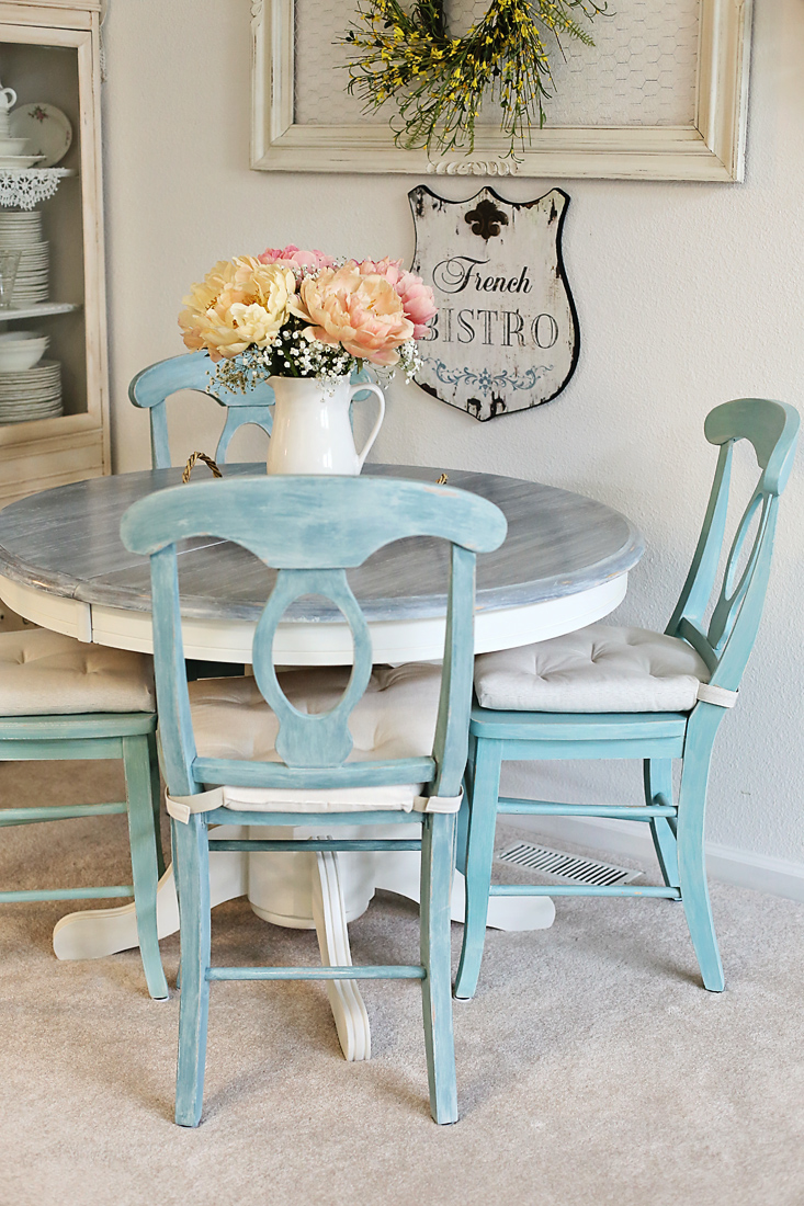 Dining table and chairs make-over | Inspirations