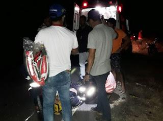 Gerente do Bradesco sofre acidente