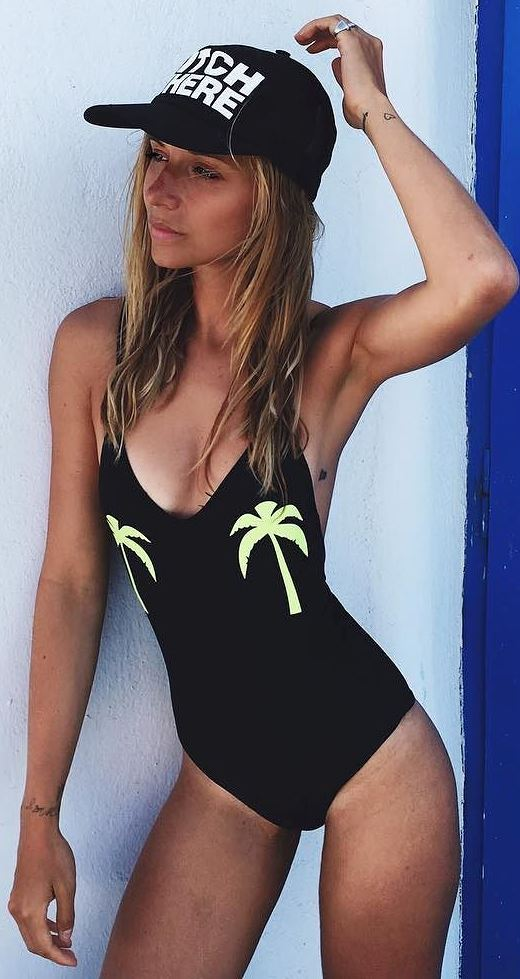 cool ootd: beautiful monokini
