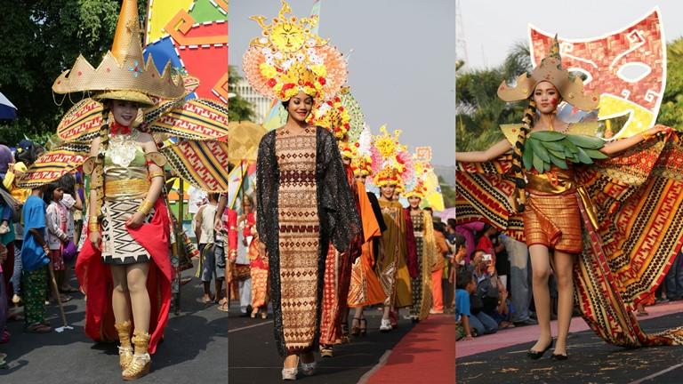 Tapis Carnival 2015 Hadirkan Pesona Kain Tradisional Khas Lampung