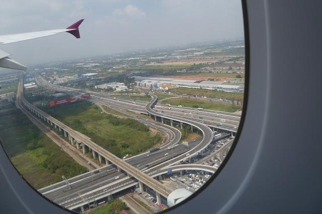 Lądowanie w Bangkoku
