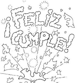 Dibujos de Feliz Cumpleaños imagenes