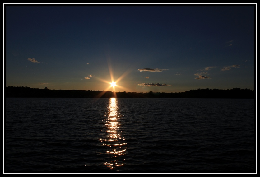 Sunset Aboard the Adirondack Cruise & Charter Co. Cruise