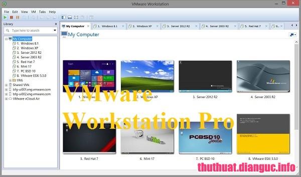 Download VMware Workstation Pro 15.0.0 Full Key – Phần mềm tạo máy ảo chuyên nghiệp