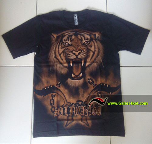 Kaos Gambar Harimau