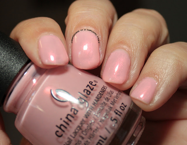 China Glaze Seas and Greetings collection - Eat, Pink, Be Merry